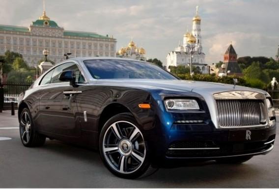 Rolls Royce Wraith debuts in Russia