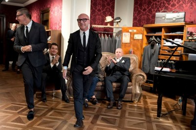 Dolce & Gabbana inaugurate new London flagship with street catwalk