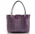 'Do' Bag by VIGNE in Crocodile leather