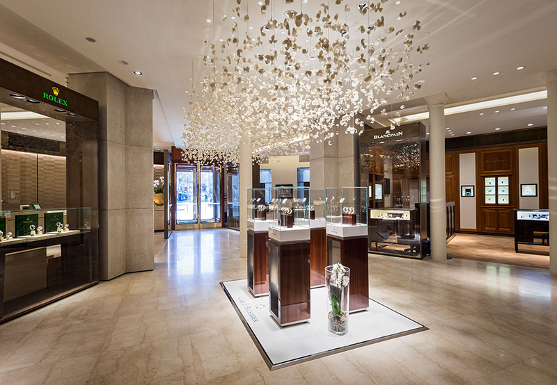 Cartier Flagship Store roadster Perfume