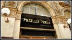 Prada historical store in Milan at Galeria Vittorio Emanuele