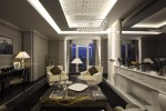 Roman Penthouse at Regina Baglioni Hotel, Rome - living room by night