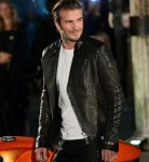 David Beckham at the opening of Belstaff House in London, September 2013