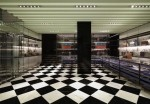 Prada Men's Only flagship store in Milan, Via Montenapoleone