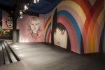 Prada murals for Spring 2014 catwalk