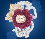 Van Cleef Arpels launches Pavot Mystérieux High Jewelry Timepiece