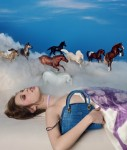 Tod's Pop Touch project promoting the Sella bag