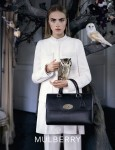 Mulberry's Del Rey tote, Fall Winter 2013-14 campaign