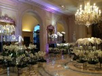 October flower installations by Jeff Leatham at Four Seasons George V, Paris