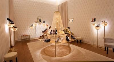 Louis Vuitton shoes only boutique at Dubai Mall