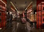 Prada store Barcelona, Spain