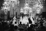 Sala Bianca catwalk show 1955 - V&A The Glamour of Italian Fashion