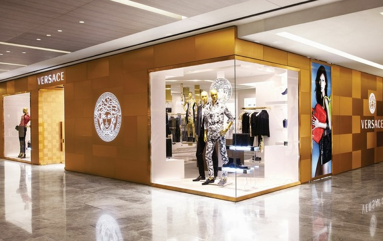 Versace Store In Singapore At Paragon Mall Cpp Luxury