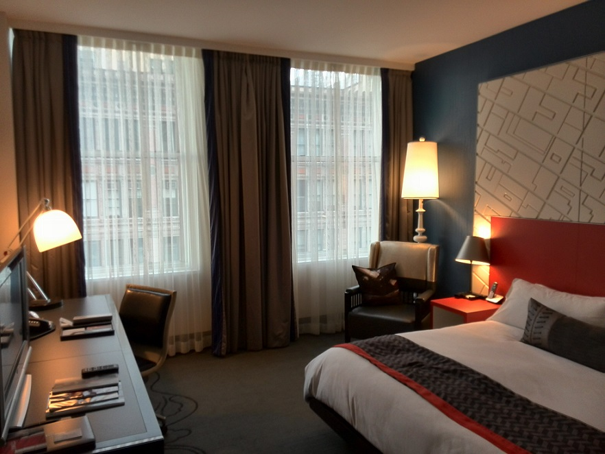 W hotel union sq new york renovated cool corner suite 1 for W living room new york