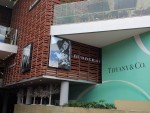 Burberry and Tiffany stores Bogota, Colombia