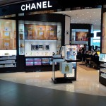Chanel beauty boutique in Bogota at El Dorado International Airport