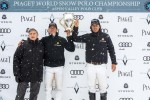 Nacho Figueras (St Regis Team) wins the 2013 Piaget World Snow Polo in Aspen