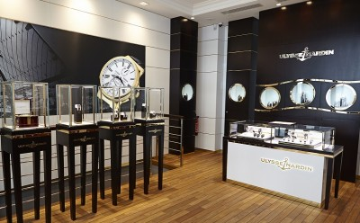 Ulysse Nardin opens new flagship boutique in Paris