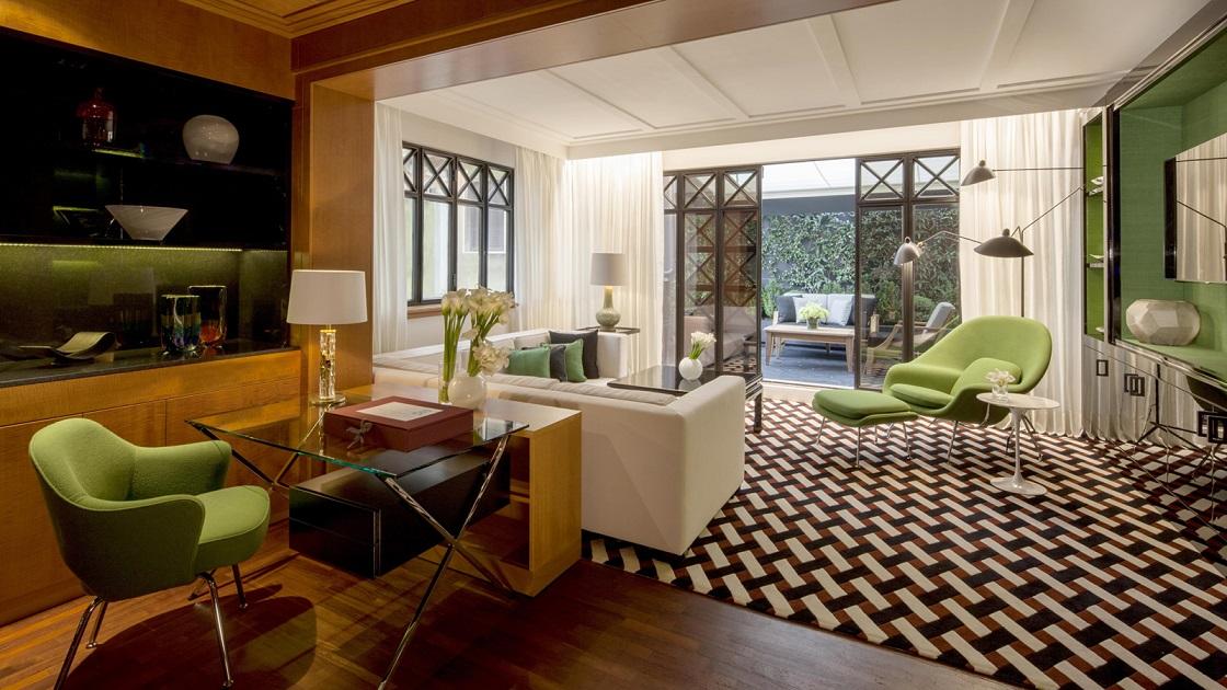 Green Bathroom Rug Four Seasons Hotel Milan introduces brand new Fashion and ...