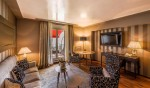 Lausanne Palace Hotel, newly renovated Deluxe Suite with Lake & Alps view