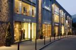 Luxury shopping in St Moritz