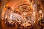 Wedding set-up at Le Montreux Palace Fairmont Hotel