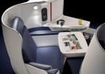 Air France new Business Class seats 2014 on long-haul aircraft