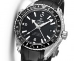 Omega Seamaster Planet Ocean Platinum with diamond-set ceramic and sapphire, pre-BaselWorld 2014