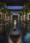 The Setai, Miami Beach - courtyard and fountains