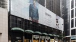 Hugo Boss new flagship store in Hong Kong at Central Building