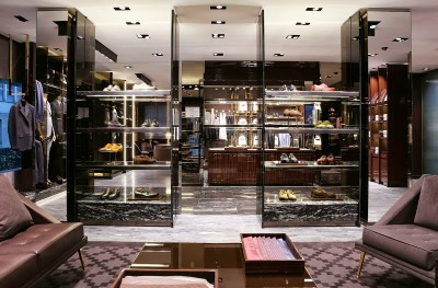 Gucci Men's only store Milan, Brera District