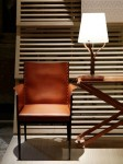 Hermes Jean-Michel Frank armchair re-edition, 2014 Salone Mobile 2014