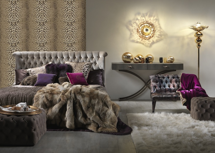 Roberto Cavalli unveils 2014 Home Collection at Salone del Mobile Milan - CPP...