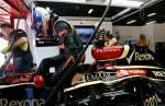 Lotus F1 Team-Romain Grosjean