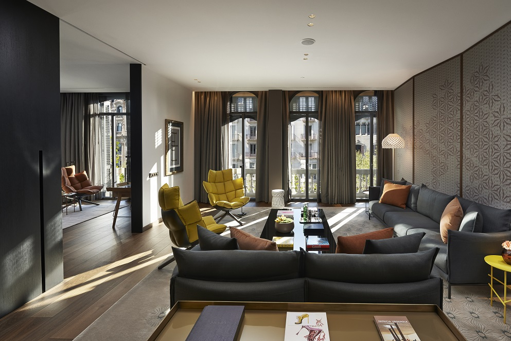 Brand New Suites At Barcelonas Finest Luxury Hotel