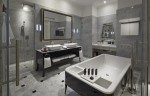 Sofitel So Singapore - So Lofty Bathroom with signature 'Bed' Bathtub