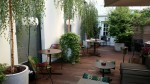 Das Stue Hotel, Berlin - outdoor terrace