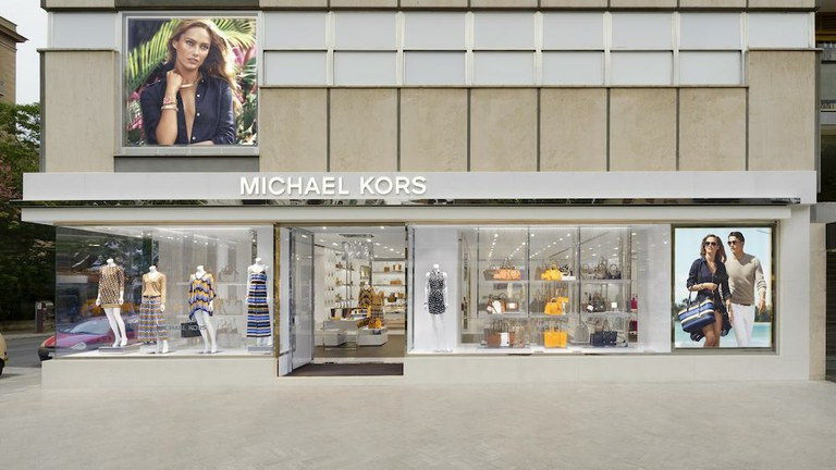 michael kors opens new store in palermo italy cpp luxury. Black Bedroom Furniture Sets. Home Design Ideas