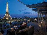 View from the Shangri-La Paris