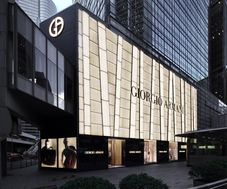 giorgio armani flagship store hong kong   cpp luxury