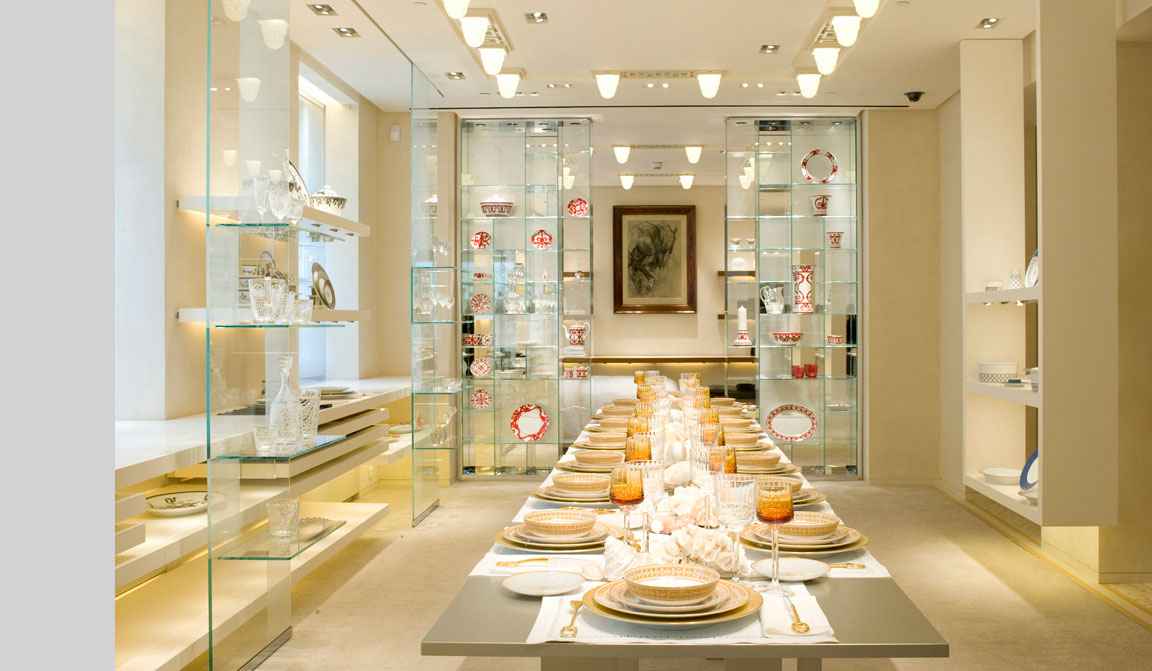 Hermes art de la table at faubourg st honore flagship - Arts de la table ...