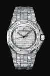 Harrods 2014 Biennale - Audemars Piguet 'Lady Royal Oak Baguette Cut Diamonds'
