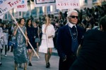 Lagerfeld stages feminist revolution for CHANEL Spring Summer 2015 (photo Lea Colombo / dazed)