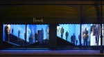 Ermenegildo Zegna windows Harrods, October 2014 2
