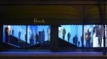 Ermenegildo Zegna windows Harrods, October 2014 2