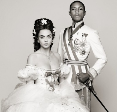 CHANEL's latest video ad features Pharrell Williams and Cara Delevingne