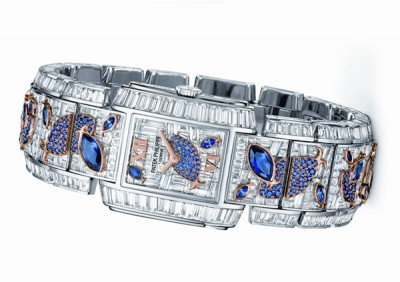 """Patek Philippe's the ultimate in high jewellery watches, the """"Aquatic Life"""""""