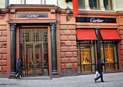 Luxury brands raise prices in Russia as the Ruble plummets