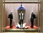 Fendi QuTweet Collection window at Osaka store