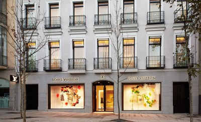 Louis Vuitton new flagship store in Madrid